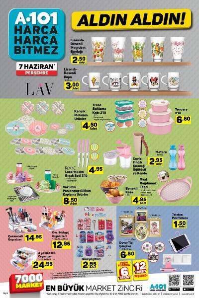 A101 7 Haziran 2018 Aktüel Ürünler Kataloğu