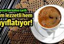 Bu kahve hem lezzetli hem zayıflatıyor!