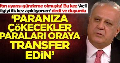 Altın için uyaran Ramazan Kurtoğlu bu kez 'Acil bilgi' diyerek duyurdu: Paranıza çökecekler, paranızı…